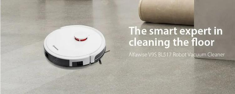 Alfawise V9S BL517 First REVIEW: Is It Better Than Xiaomi Mi Robot?