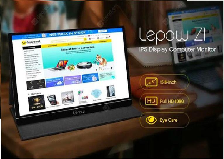 Lepow 15.6-Inch USB-C Portable Monitor Review