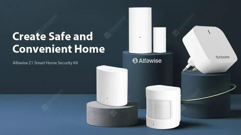 Alfawise Z1 Smart Home Security Kit. Review.