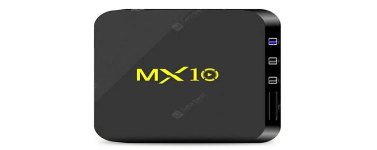 MX10 Android TV box review