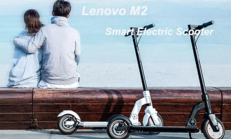 Lenovo M2 Electric scooter launched: 30KM endurance, priced at $240