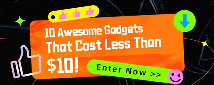 10 Awesome Gadgets That Cost Less Than $10 On Gearbest!!!