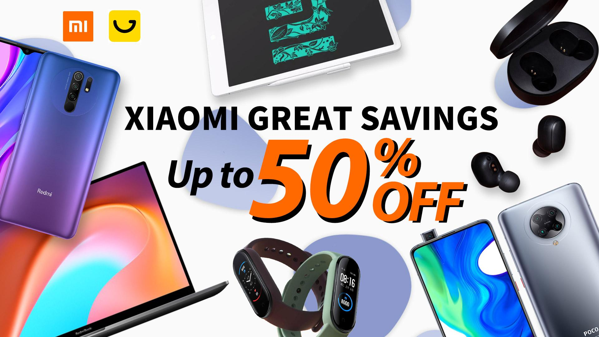 6Best Budget Xiaomi Deals For 2020 丨 UP TO 50% OFF!
