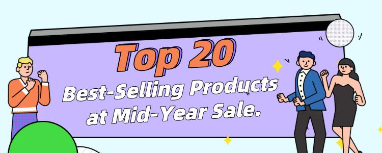 Top 20 Best-Selling Products at Gearbest Mid-Year Sale 2020.