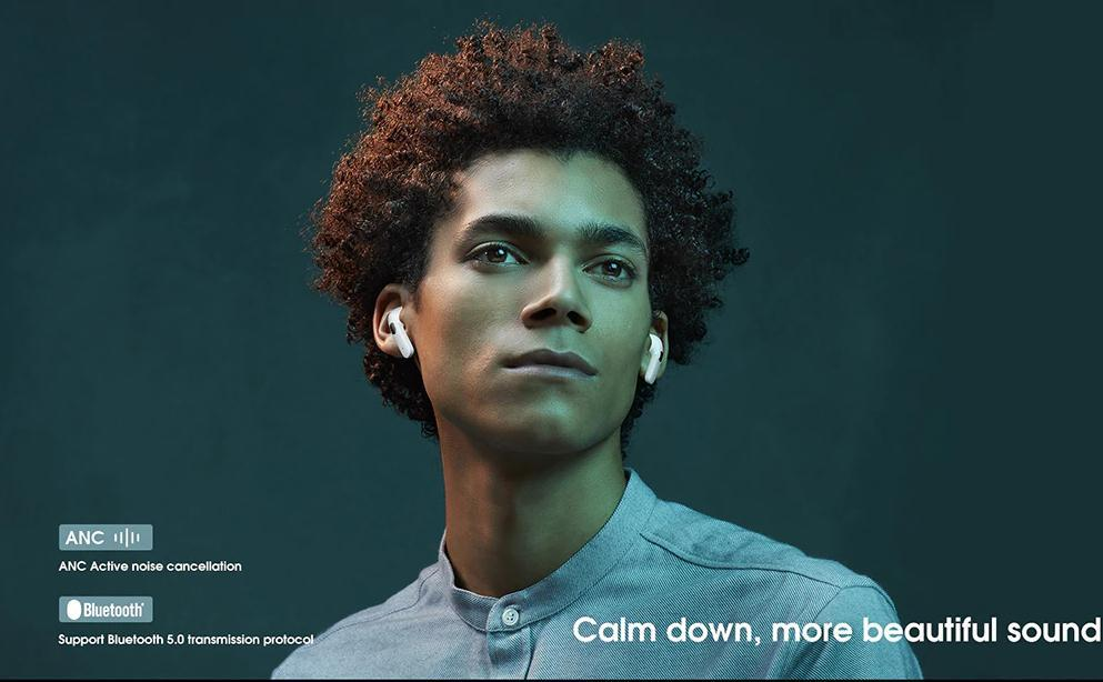 Only $55.99! The Elephone Elepods X, Which Up to 30db Deep Noise Reduction is The Most Cost-effective TWS Earphone 2020.