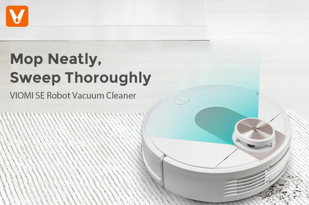 The $299.99 Viomi SE is the Most Worth Buying Vacuum Cleaner in 2020: Mop Neatly, Sweep Thoroughly